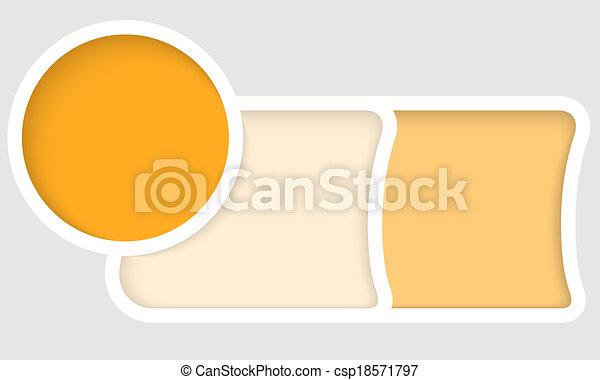 vector abstract frame - csp18571797