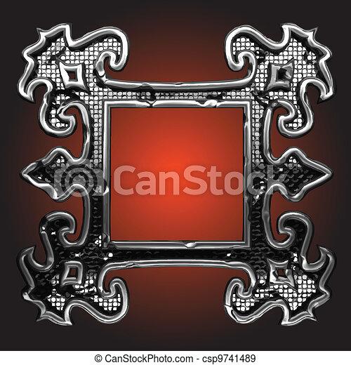 vector abstract frame - csp9741489