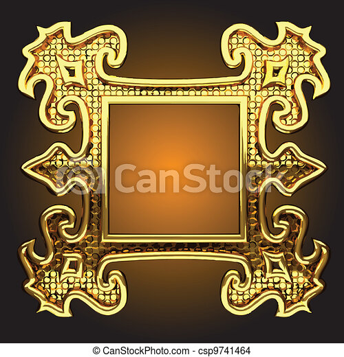 vector abstract frame - csp9741464