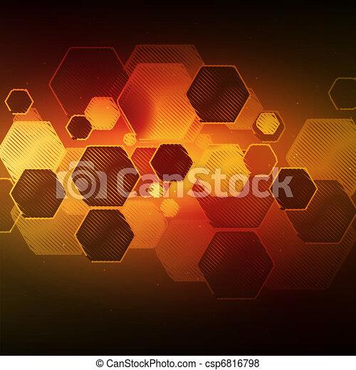 Vector abstract illustration - csp6816798