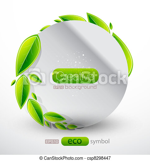 Vector abstract nature - csp8298447
