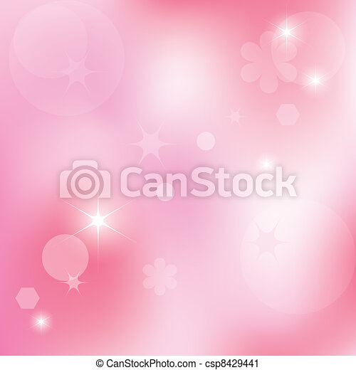 vector abstract pink background - csp8429441