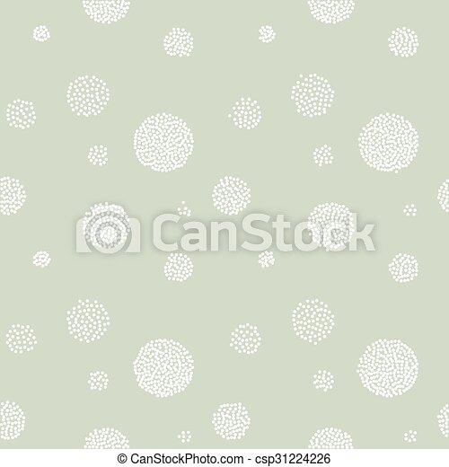 Vector Abstract retro  seamless with circle - csp31224226