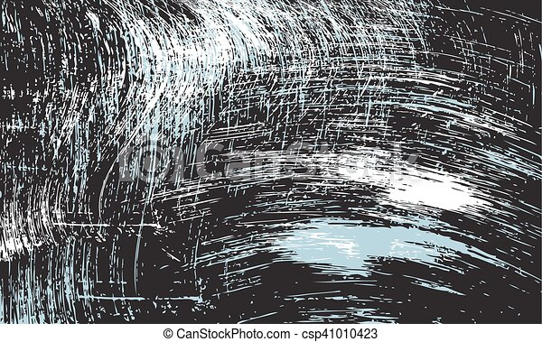 Vector abstract scratched background - csp41010423