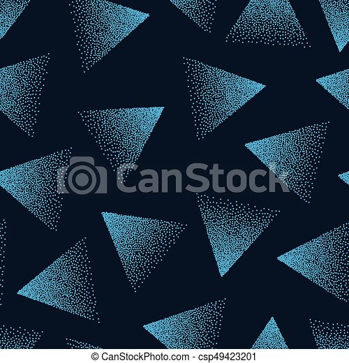 Vector Abstract Stippled Seamless Pattern