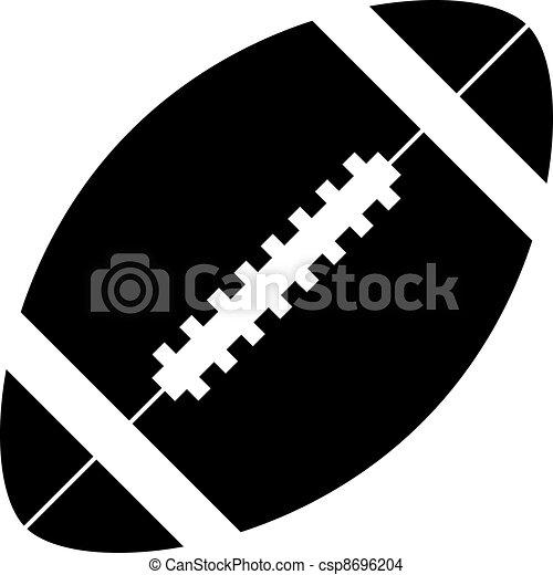 vector american football rh canstockphoto com footprint vector art football field vector art