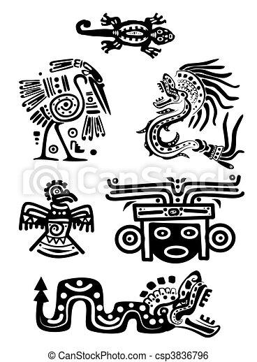 Vector - American Indian nation - csp3836796