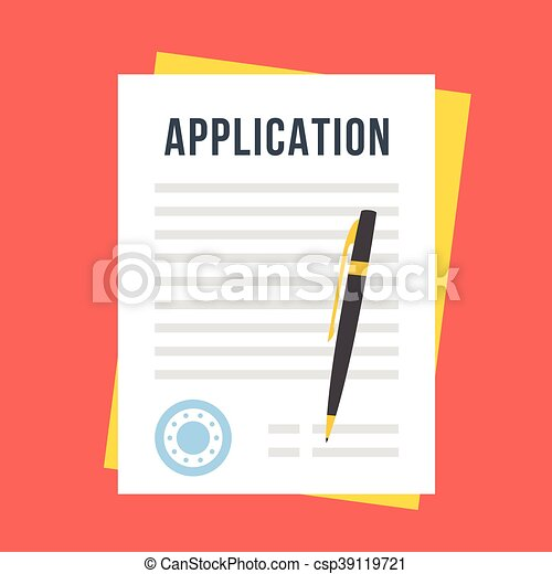 vector-application-form-illustration_csp39119721 Job Application Form Template Online on tracking spreadsheet, california state, free printable blank, for small businesses, child care, microsoft word free, for retail,