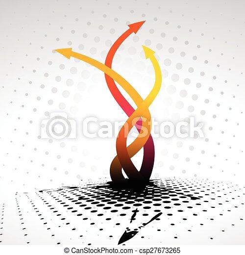 vector arrow design - csp27673265