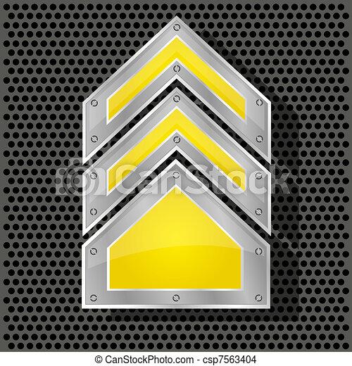 Vector arrow for your design - csp7563404