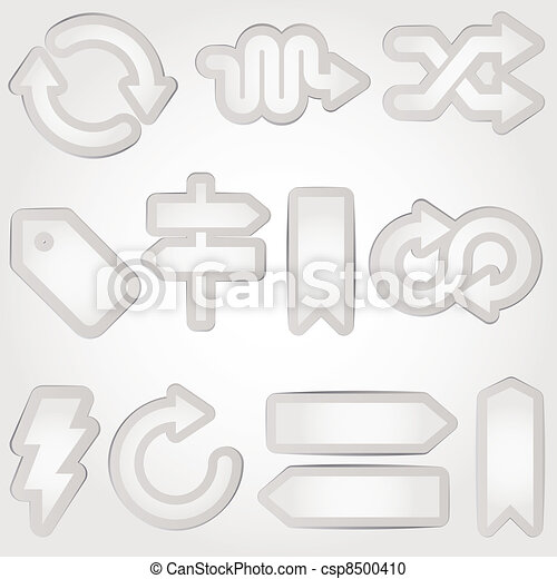 vector arrows set - csp8500410