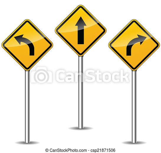 Vector arrows signs - csp21871506