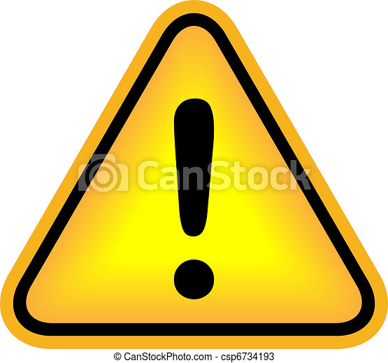Vector attention exclamation sign - csp6734193