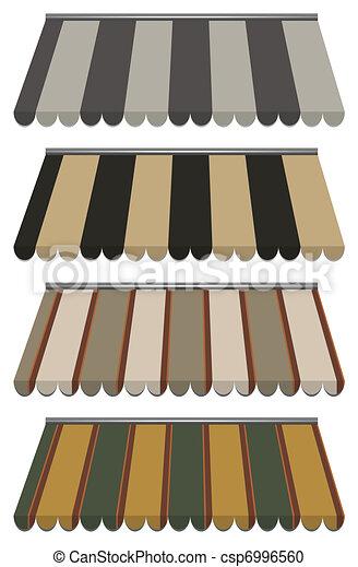 vector awnings - csp6996560
