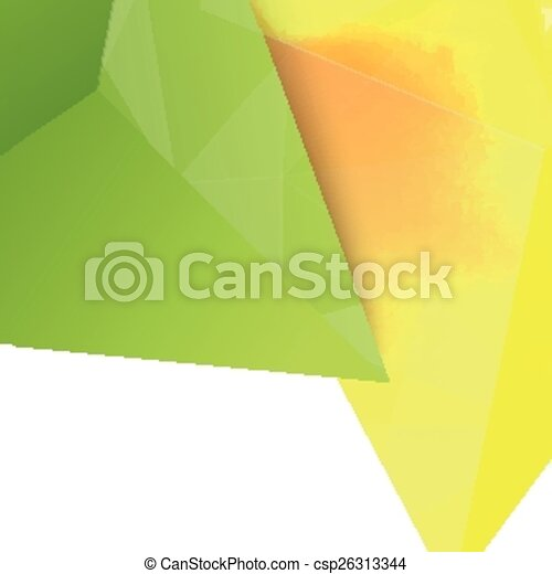 Vector background abstract polygon triangles. - csp26313344
