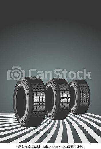Vector background of car design - csp6483846