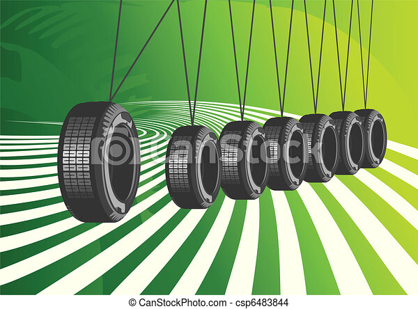 Vector background of car design - csp6483844