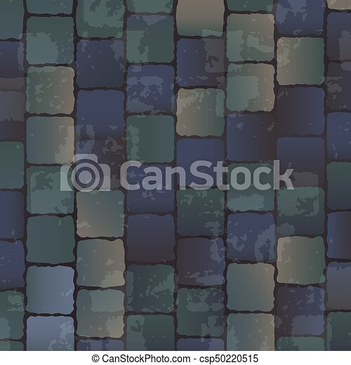 . Vector background of concrete floor texture  Ancient stone brick floor  texture  seamless background