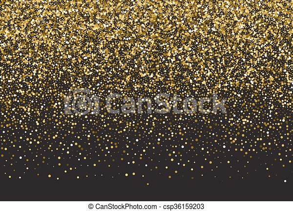 vector background with gold glitter gold sparkle vector template