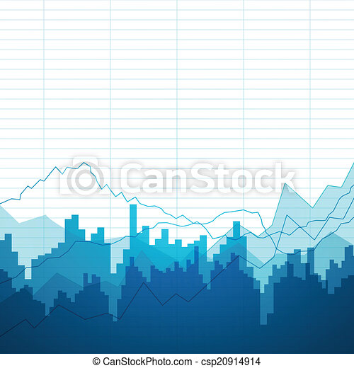 Vector Background with Graphs - csp20914914