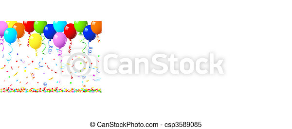 Vector balloons - csp3589085