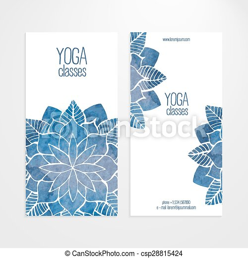 Vector Banner Templates With Watercolor Abstract Flowers A Set Of Vector Vertical Banners Templates Watercolor Blue