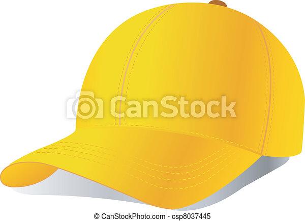 Vector baseball cap - csp8037445