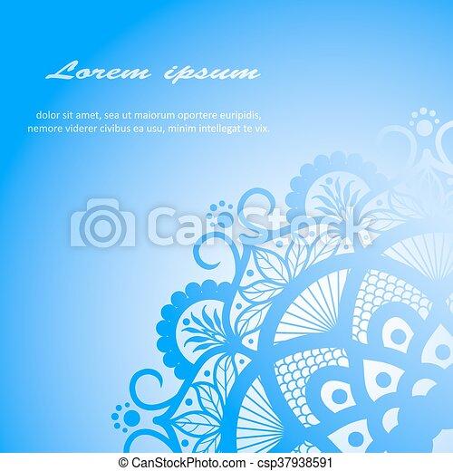 Vector Beautiful Deco Mandala - csp37938591