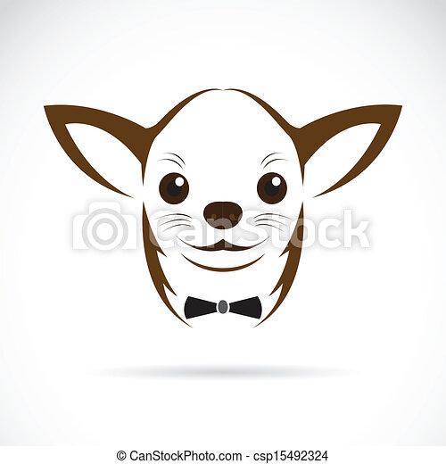 vector, beeld, chihuahua, dog - csp15492324