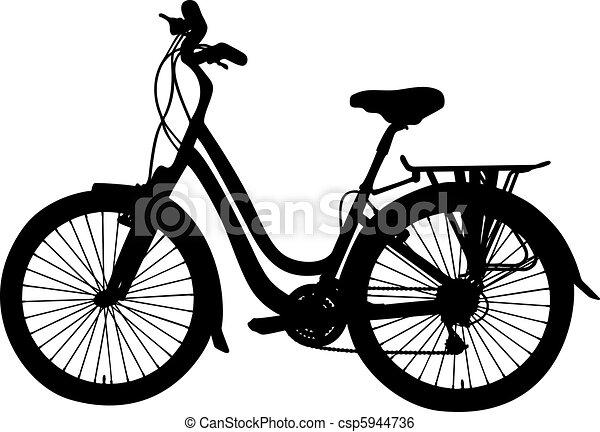 vector bicycle - csp5944736