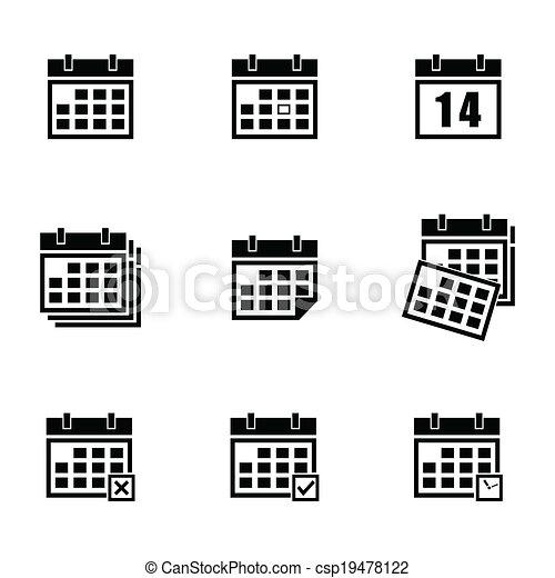 Calendario Vector Blanco.Calender Vector Clipart Illustrations 20 630 Calender Clip