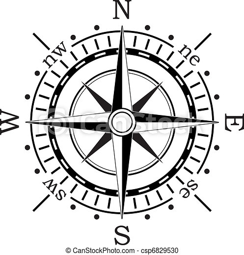 vector black compass vector clipart search illustration drawings rh canstockphoto com nautical compass vector vector gps compass