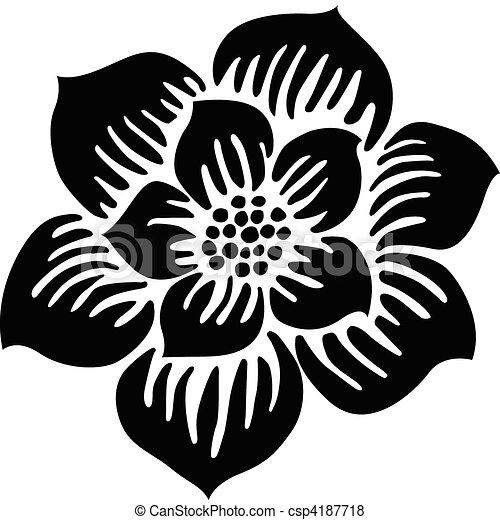 Vector Blossom Illustration - csp4187718