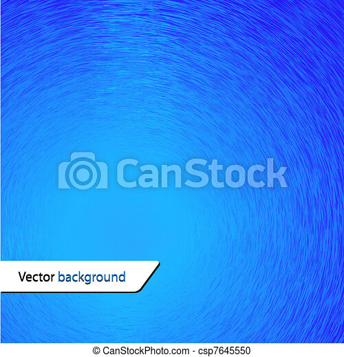 vector blue background for your design - csp7645550