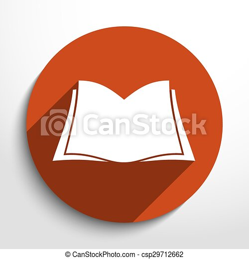 Vector book icon - csp29712662