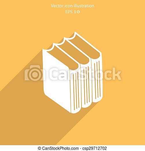 Vector book icon - csp29712702