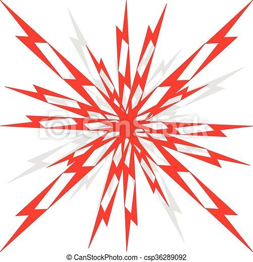 Vector boom illustration. - csp36289092