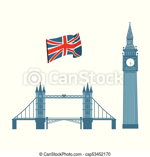 5fabd025dc285 Vector british symbols icon set. Vector flat united kingdom