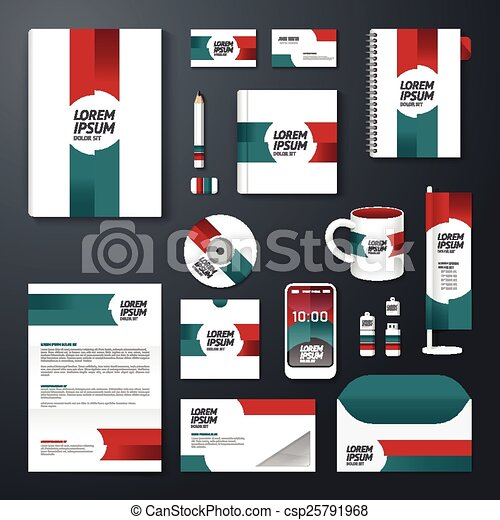 Vector brochure flyer magazine cover booklet poster design vector brochure flyer magazine cover booklet poster design template layout business stationery annual report a4 size set of corporate identity template cheaphphosting Image collections