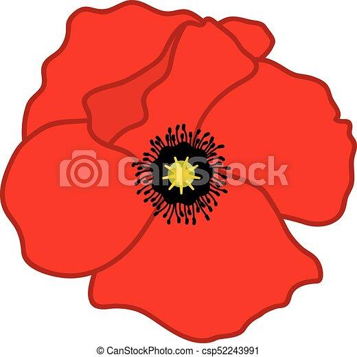 vector bud of red poppy vector poppy poppy vector eps vectors rh canstockphoto com poppy clip art free poppy clip art free