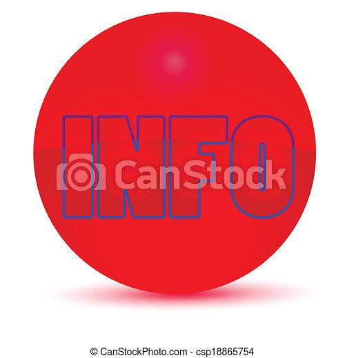 Vector button icon - csp18865754