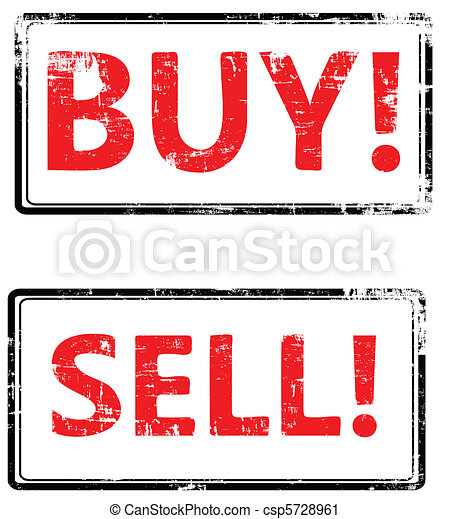 The grunge vector buy end sell stamp.