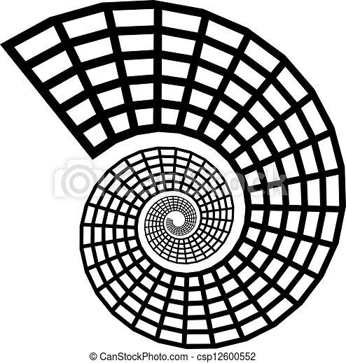 Silueta de proyectil Vector - csp12600552