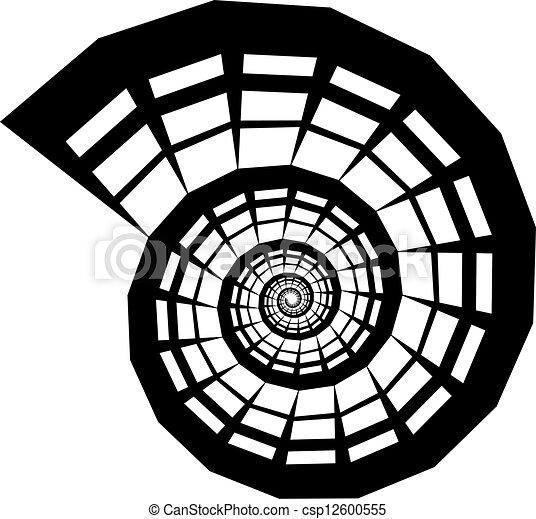 Silueta de proyectil Vector - csp12600555