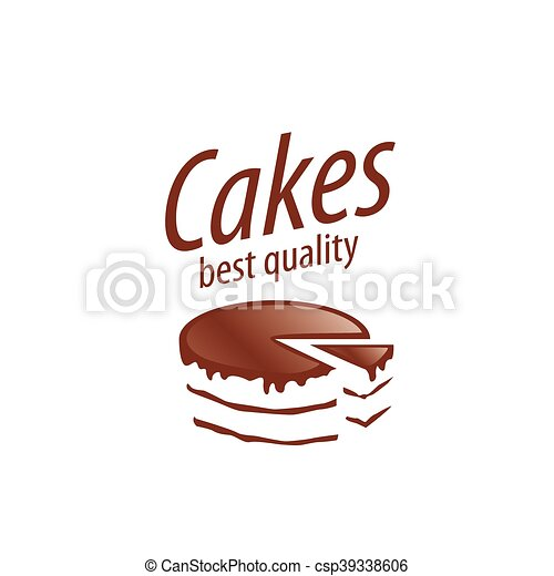 vector cake logo cake logo design template vector illustration of