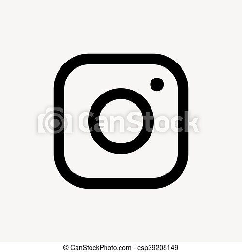 vector camera icon vector black camera icon on grey eps vector rh canstockphoto com camera icon vector png surveillance camera icon vector