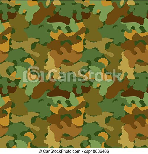 Vector Camouflage Seamless Pattern For Wallpaper Backgrounds Textures In Army Or Pseudo Army Style