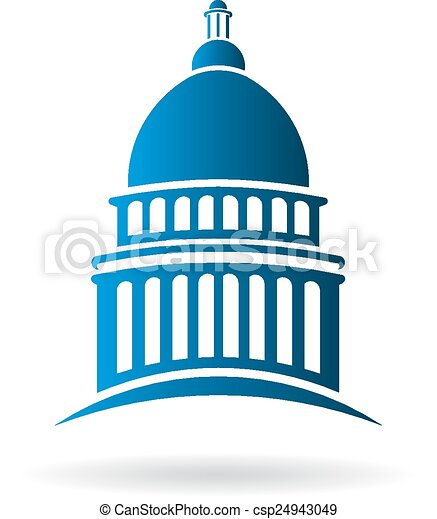 vector capitol building logo eps vector search clip art rh canstockphoto com