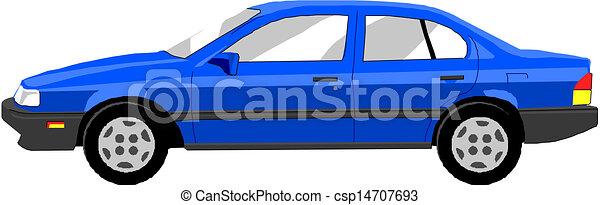 Vector car  - csp14707693