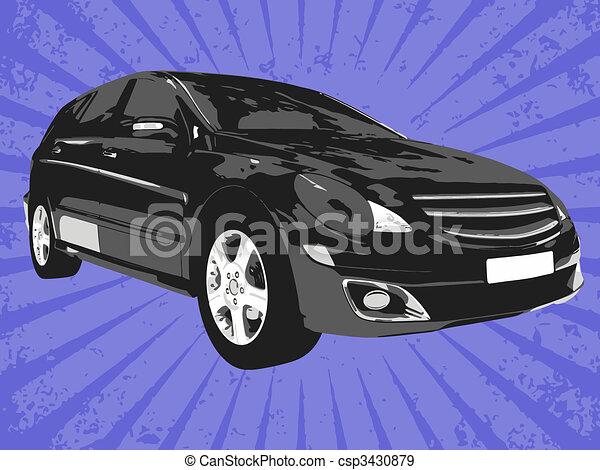 Vector car - csp3430879